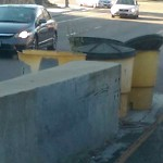Damaged Guardrail at 4845-4981 Texas Street San Diego