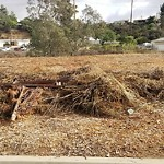Illegal Dumping - Street/Sidewalk at 5101-5199 Chollas Pkwy N