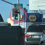 Signal Facing Wrong Direction at 1124 Buenos Ave