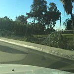 Damaged Guardrail at Mission Bay Dr
