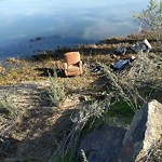 Illegal Dumping - Open Space/Canyon/Park at San Diego River Pathway