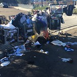 Illegal Dumping - Open Space/Canyon/Park at MONTEZUMA RD