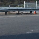 Damaged Guardrail at 4100–4514 Murphy Canyon Rd