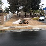 Illegal Dumping - Open Space/Canyon/Park at 5545 Churchward St