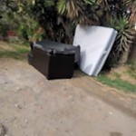 Illegal Dumping - Open Space/Canyon/Park at 3030 Chamoune Ave