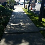 Sidewalk at 301-333 Fir St