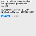 Light Out at 2821–2823 Famosa Blvd