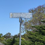 Traffic Sign at 6400–6498 Bounty Ct