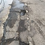 Pothole at 2508 1st Ave