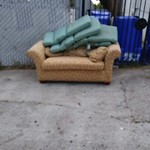 Illegal Dumping - Open Space/Canyon/Park at 2559 Fairmount Ave