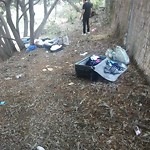 Illegal Dumping - Open Space/Canyon/Park at 2593 Roseview Pl