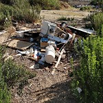 Illegal Dumping - Open Space/Canyon/Park at 3751 Winona Ave