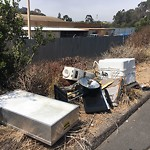 Illegal Dumping - Open Space/Canyon/Park at 3751–3799 Ash St