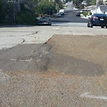 Pothole at 2128 Plum St