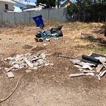 Illegal Dumping at 4166–4174 Redwood St