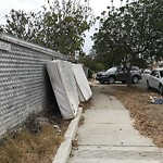 Dumpster Encroachment at 3506 Chamoune Ave
