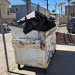 Dumpster Encroachment at 1827 Garnet Ave