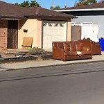 Dumpster Encroachment at 6020 Adams Ave