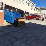 Dumpster Encroachment at 4227 49th St