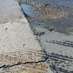 Pothole at 9137 Gemini Ave