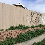 Graffiti at 204 S Meadowbrook Dr,