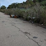 Illegal Dumping at 2750 Murphy Canyon Rd