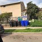 Dumpster Encroachment at 3628 Logan Ave