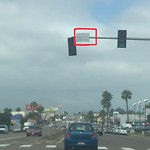 Traffic Sign at 8252 Clairemont Mesa Blvd