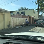Dumpster Encroachment at 4082 Highland Ave