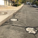 Pothole at 7301–7399 Viar Ave