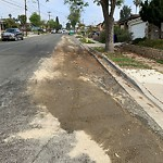 Street Sweeping at 2045 Cardinal Dr